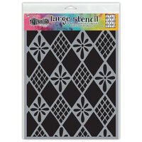 Ranger Ink - Dylusions Stencils - Large - Diamond Are Forever