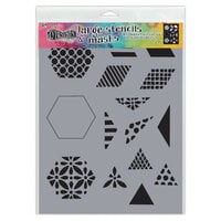 Ranger Ink - Dylusions Stencils - Large - 1.5 Inch Quilt