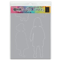 Ranger Ink - Dylusions Stencils - Silhouettes - Edith