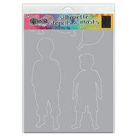 Ranger Ink - Dylusions Stencils - Silhouettes - Otis