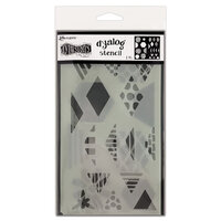 Ranger Ink - Dylusions Dyalog Stencils - Quilt It