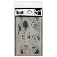 Ranger Ink - Dylusions Dyalog Stencils - Quilt It