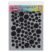 Ranger Ink - Dylusions Stencils - Large - Behave