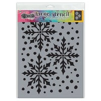 Ranger Ink - Dylusions Stencils - Large - Ice Queen