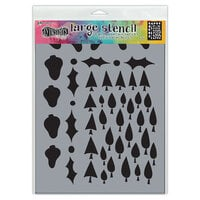 Ranger Ink - Dylusions Stencils - Large - Tree Border