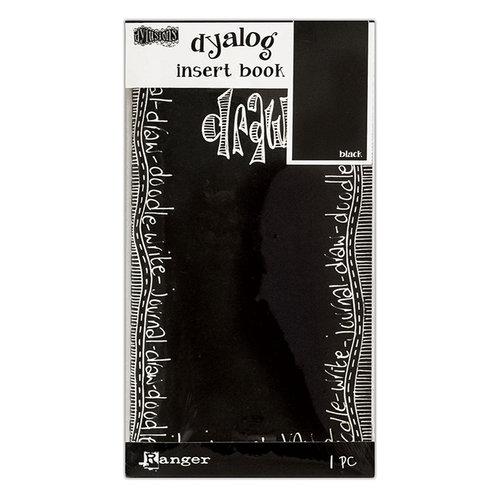 Ranger Ink - Dylusions Dyalog Insert Books - Black