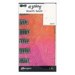 Ranger Ink - Dylusions Dyalog Insert Books - Agenda