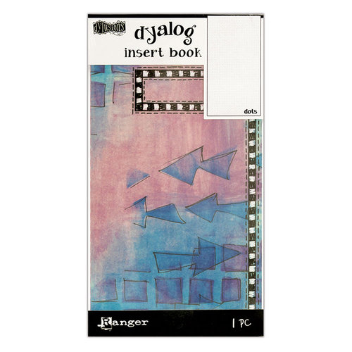 Ranger Ink - Dylusions Dyalog Insert Books - Dots