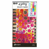 Ranger Ink - Dylusions Dyalog Insert Books - Backgrounds 2