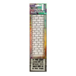 Ranger Ink - Dylusions Clear Acrylic Stamp and Stencil - Small - Brickwork