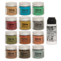 Ranger Ink - Tim Holtz - Distress Embossing Glaze - Bundle One with Distress Embossing Dabber