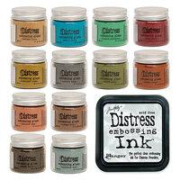 Ranger Ink - Tim Holtz - Distress Embossing Glaze - Bundle One with Clear Distress Embossing Ink Pad