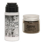 Ranger Ink - Tim Holtz - Distress Embossing Glaze and Clear Embossing Dabber - Walnut Stain