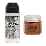 Ranger Ink - Tim Holtz - Distress Embossing Glaze and Clear Embossing Dabber - Rusty Hinge