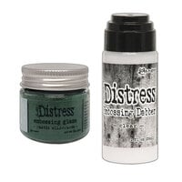 Ranger Ink - Tim Holtz - Distress Embossing Glaze and Clear Embossing Dabber - Rustic Wilderness