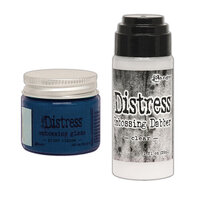 Ranger Ink - Tim Holtz - Distress Embossing Glaze and Clear Embossing Dabber - Prize Ribbon