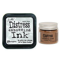Ranger Ink - Tim Holtz - Distress Embossing Glaze and Clear Embossing Ink Pad - Vintage Photo