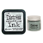 Ranger Ink - Tim Holtz - Distress Embossing Glaze and Clear Embossing Ink Pad - Weathered Wood