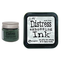 Ranger Ink - Tim Holtz - Distress Embossing Glaze and Clear Embossing Ink Pad - Rustic Wilderness