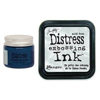 Ranger Ink - Tim Holtz - Distress Embossing Glaze and Clear Embossing Ink Pad - Prize Ribbon