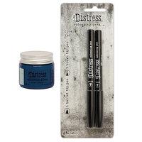 Ranger Ink - Tim Holtz - Distress Embossing Glaze and Embossing Pen Set - Prize Ribbon