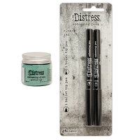 Ranger Ink - Tim Holtz - Distress Embossing Glaze and Embossing Pen Set - Speckled Egg