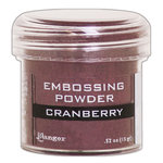 Ranger Ink - Embossing Powder - Cranberry Metallic
