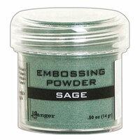 Ranger Ink - Embossing Powder - Sage Metallic