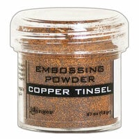 Ranger Ink - Embossing Powder - Copper Tinsel