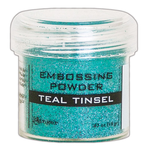 Ranger Ink - Embossing Powder - Teal Tinsel