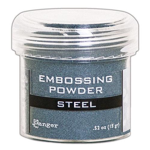 Ranger Ink - Embossing Powder - Steel Metallic