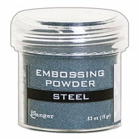 Ranger Ink - Embossing Powder - Steel Metallic