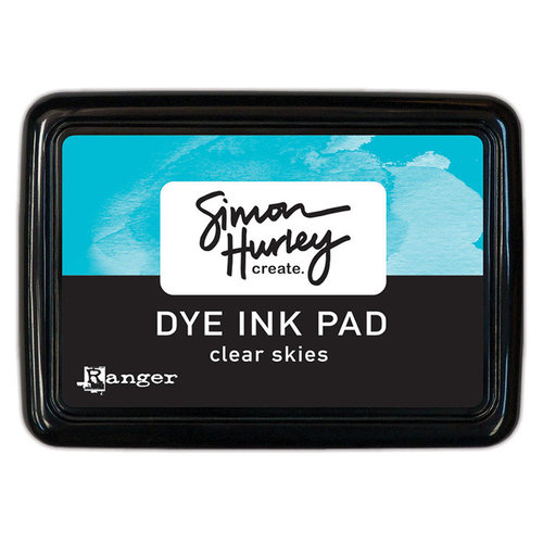 Ranger Ink - Simon Hurley - Dye Ink Pad - Clear Skies