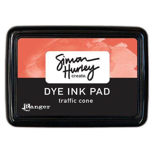 Ranger Ink - Simon Hurley - Dye Ink Pad - Traffic Cone