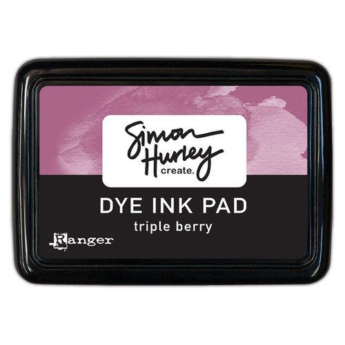 Ranger Ink - Simon Hurley - Dye Ink Pad - Triple Berry