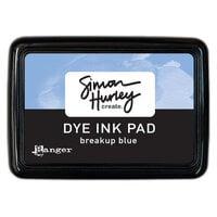Ranger Ink - Simon Hurley - Dye Ink Pad - Breakup Blue