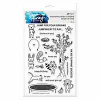 Ranger Ink - Simon Hurley - Clear Photopolymer Stamps - Trampoline Friends