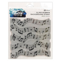 Ranger ink - Simon Hurley - Cling Mounted Rubber Stamps - Piano Recital