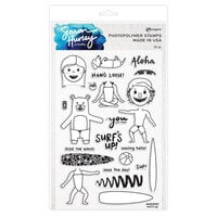Ranger Ink - Simon Hurley - Clear Photopolymer Stamps - Surf's Up
