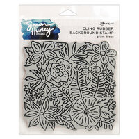 Ranger Ink - Simon Hurley - Cling Mounted Rubber Stamps - Prom Dress