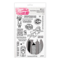 Ranger Ink - Simon Hurley - Clear Photopolymer Stamps - Supermom
