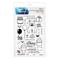 Ranger Ink - Simon Hurley - Clear Photopolymer Stamps - Cake Walk
