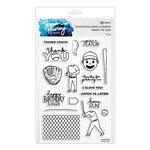 Ranger Ink - Simon Hurley - Clear Photopolymer Stamps - Home Run