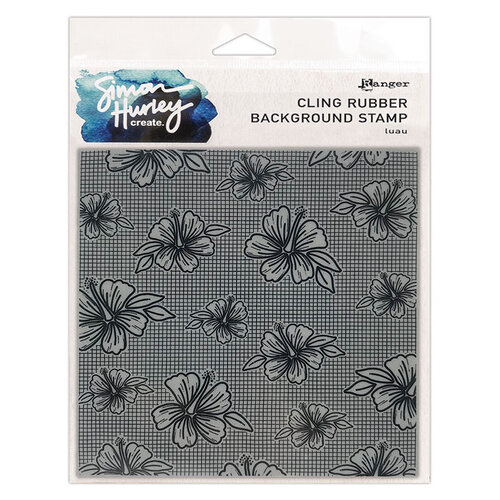Ranger Ink - Simon Hurley - Cling Mounted Rubber Stamps - Luau