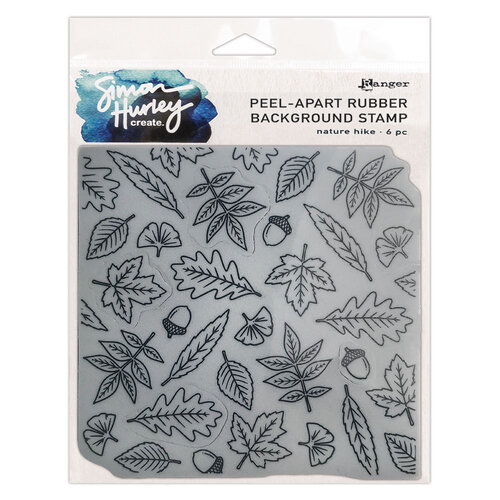 Ranger Ink - Simon Hurley - Cling Mounted Rubber Stamps - Nature Hike