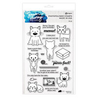 Ranger Ink - Simon Hurley - Clear Photopolymer Stamps - Cool Cats