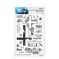 Ranger Ink - Simon Hurley - Clear Photopolymer Stamps - He Is Risen