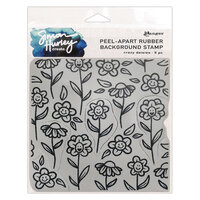 Ranger Ink - Simon Hurley - Cling Mounted Rubber Stamps - Crazy Daisies