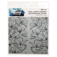 Ranger Ink - Simon Hurley - Cling Mounted Rubber Stamps - Lovely Lilies