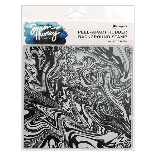 Ranger Ink - Simon Hurley - Cling Mounted Rubber Stamps - Water Marble